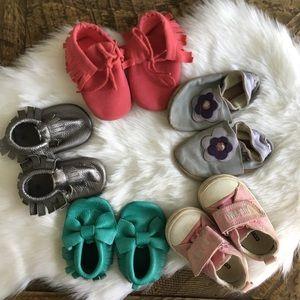 Baby Girl Bundle of Shoes
